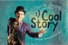 Cool Story – Free Handwritten Font Free handdrawn