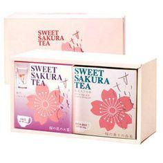 Sweet SAKURA Tea Set ~ Sweet SAKURA Tea & White Tea