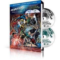 Justice League: Throne of Atlantis / Justice 3 [Blu-ray]