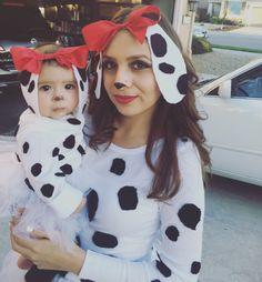 Dalmation costume #babycostume #dalmations