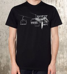 Ski Lift T-Shirt | Celebrate ski season year-round with this graphic skylift t-sh... | T-Shirts