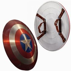 You might not have any super-soldier serum to boost your strength but you can still become the patriotic Avenger with the Captain America Prop Replica Shield, which was cast with the same molds used for the prop seen in The Avengers.