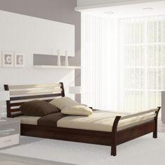 Łóżko bukowe 180x200 Modena (ze stelażem)