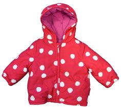 Red Spot Padded Jacket £41.99