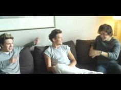 Louis and Harry talk about New Years Eve. wow that sounds like a really fun party :)
