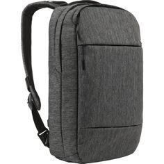 Incase City Compact Backpack Heather Black Gunmetal Grey