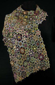 Sophie Digard crochet: Stjerneblomster i pasteller - Butik Paradisets bamser, tøj og brugskunst