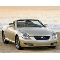 The perfect #beach accessory a #Lexus #convertible!
