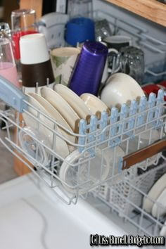 Money Saving Dishwasher Tips & A simple Dishwashing Cleaner Recipe