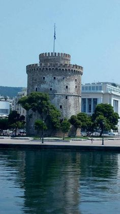 Greek Isles, Thessaloniki, Macedonia, Nymph, Tower Bridge, The Past, City, Places, Photography