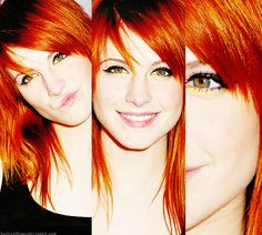 Hayley Williams! Love her and her many hairstyles over the years
