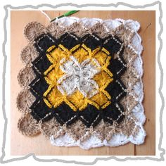 baby blanket, wool-eater instructions (free crochet patterns) | make handmade, crochet, craft