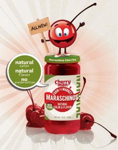 Gray & Company Launches CherryMan Farm to Market Maraschinos(TM) --- Global Maraschino Cherry Leader Goes Natural.  (PRNewsFoto/Gray & Company)