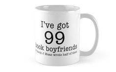 99 Book Boyfriends Mugs