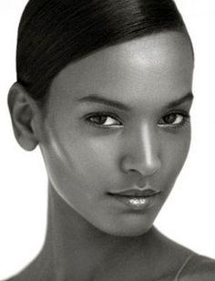 Ethiopian model Liya, Her look says ZEN