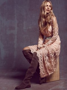 Free People Decadent Embroidered Maxi Dress at Free People Clothing Boutique