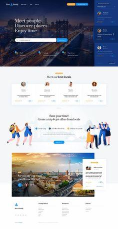 by Mateusz Madura - Nice landing page website design inspiration. Cool Web Design, Web Design Mobile, Creative Web Design, Web Ui Design, Web Design Services, Web Design Trends, Flat Design, Design Design, Website Design Inspiration