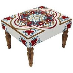 Ginger Small Moroccan Stool