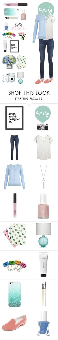 """""""Olivia"""" by pie89heart ❤ liked on Polyvore featuring Americanflat, Seventy Tree, AG Adriano Goldschmied, Tiffany & Co., Fujifilm, NARS Cosmetics, Essie, Hadron Epoch, Jamie Young and Diane James"""