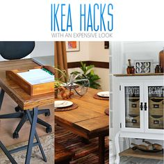 If you love IKEA Hacks...you are going to flip over this incredible collection of IKEA Hacks with an Expensive Look! They are drop dead FABULOUS!!!!