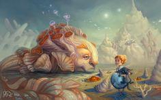 Google Image Result for http://digital-art-gallery.com/oid/53/640x398_10143_Quiet_Shore_2d_illustration_girl_children_book_monster_fantasy_cartoon_picture_image_digital_art.jpg