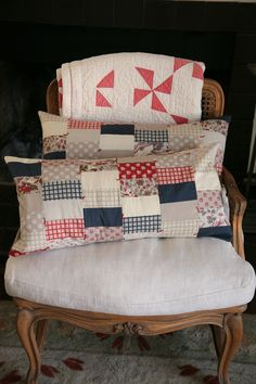 Patchwork Pillow.