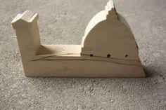 Il duomo, legno di pioppo