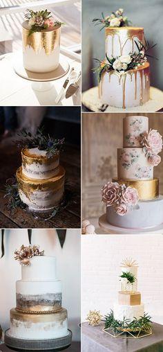 <p>Nackt, Kuchen, geode Felsen, von hand gemalte Illustrationen—Hochzeitstorten sind eine Leinwand von ständig wechselnden trends. Was heißen jetzt? Metallics. Schimmernde details sind zu finden Ihren Weg zurück in die Hochzeit Dekor, und diejenigen, die metallic-details sind der Landung direkt auf den Kuchen zu. Dein Kuchen ist das Herzstück Ihrer Rezeption. Also warum nicht haben es […]</p>