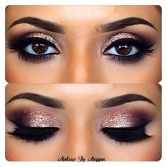 20 Amazing Makeup Tutorials for Blue Eyes ❤ liked on Polyvore featuring beauty products, makeup and eye makeup