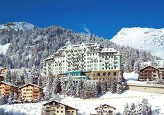 Carlton Hotel St. Moritz :: WedMap Carlton Hotel, Alps, Mount Everest, Mountains, Mansions, House Styles, Winter, Nature, Travel