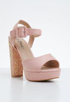 Carys heel - mid pink Miss Black Heels | Superbalist.com Black Heels, Open Toe, Two By Two, Footwear, Pink, How To Wear, Shoes, Women, Fashion