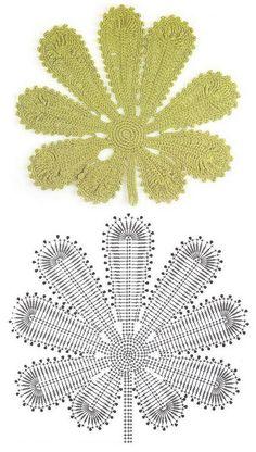 crochet maple leaf pattern