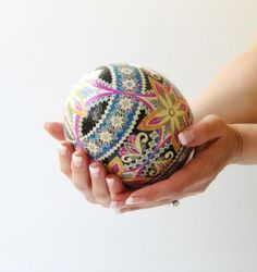 Pysanky Easter eggs Personalized for baby first Easter
