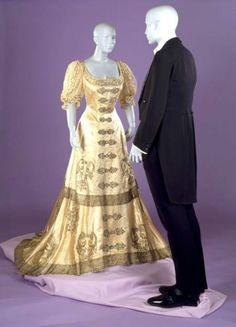 Ball Gown ca. 1899-1