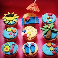 Seaside cupcakea