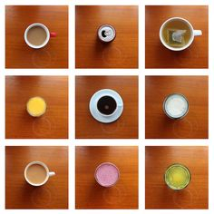 A typology of beverages. Photo by Phoebe Mead. Montage Photography, A Level Photography, Object Photography, Photography Series, Documentary Photography, Photography Projects, Still Life Photography, Color Photography, Creative Photography