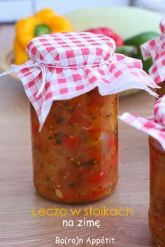 Blog Bo(ro)n Appétit: Leczo w słoikach na zimę