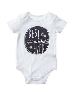 7258b196337e Babies With Attitude Best Grandchild Bodysuit - Baby 3-12 Mos. Shoe Stores  Near