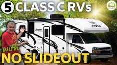 Small Motorhomes, Luxury Motorhomes, Class C Motorhomes, 5th Class, Class C Rv, Best Small Rv, Rv Floor Plans, Van Life, Recreational Vehicles