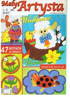 Maly Artysta 2006 - 2 - jana rakovska - Álbuns da web do Picasa Book Crafts, Arts And Crafts, Magazine Crafts, Web Gallery, Magazines For Kids, Painted Books, Easter Crafts, Paper Cutting, Deco