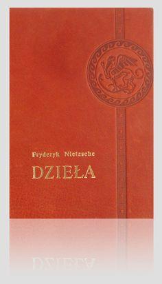 """""""Dzieła"""" - Fryderyk Nietzsche. Exclusive artistic books – unique leather binding.  http://www.kurtiak-ley.com/nietzsche-dziela/. Ekskluzywne książki artystyczne. Ręczne oprawy w skórę.  http://www.kurtiak-ley.pl/nietzsche-dziela-kolekcja-ksiazek/."""