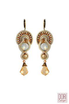 IDO-E304 , idoe304 , gold earrings , bridal earrings ,
