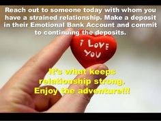 Emotional Bank Account - Dr. Stephen R. Covey - Inspirational Story