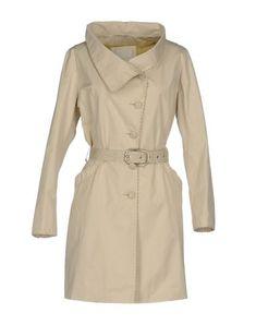VIOLANTI Women's Overcoat Beige 8 US