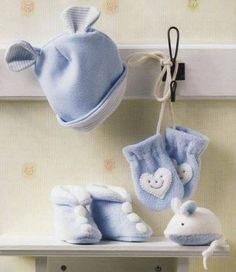 Touquinha e conjuntinho para os bebês | MEU MUNDO CRAFT