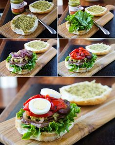 Ino's Pancetta, Lettuce, And Tomato Sandwich Recipes — Dishmaps