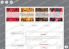 """""""Diseño de blog"""" en venta - Ref. """"Cocina3"""""""