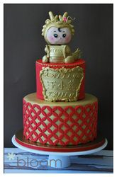 ** Chinese New Year Themed Cake @bloomcakeco