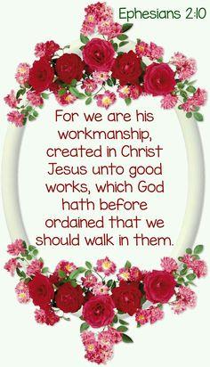 Ephesians 2:10 KJV