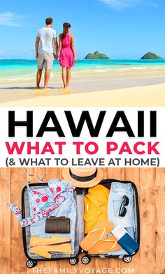 Are you wondering what to pack for Hawaii? The good news is you won't need much on your Hawaii packing list! Check out these essentials to keep you cool and comfortable on your Hawaii vacation *without* packing your whole closet. Beach Trip Packing, Packing List For Cruise, Packing List For Vacation, Packing Tips, Travel Packing, Weekend Packing, Camping Packing, Shopping Travel, Vacation Deals